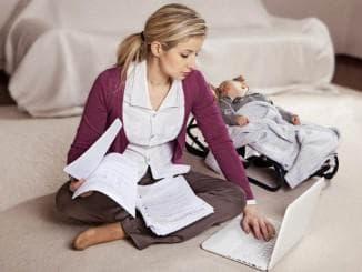 безработная мама