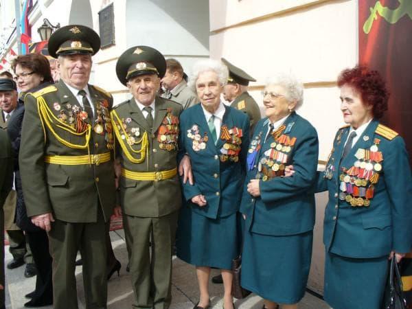 герои и ветераны труда